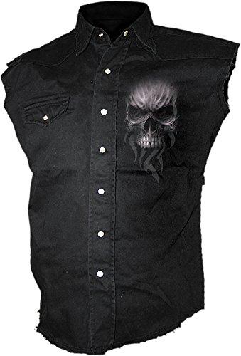 Spiral Death Rage Camicia senza maniche nero L
