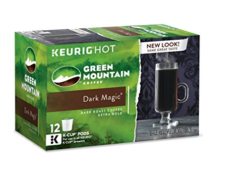 Green Mountain Coffee Dark Magic, Keurig K-Cups, 12 Count (Pack of 6) (Gmo Free Coffee Beans compare prices)