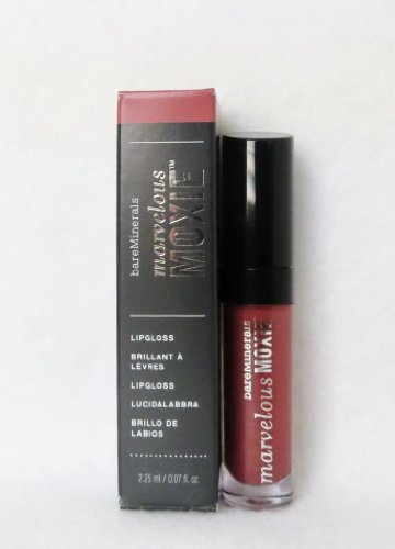 bareminerals Marvelous Moxie Lip Gloss Maverick (rosewood shimmer) HALF SIZE 2.25ml (Marvelous Moxie Maverick compare prices)