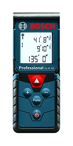 Bosch GLM 40 Laser Measure, 135 Feet