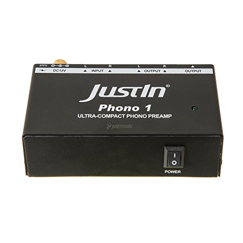 justin produit acheter justin phono 1 pr amplificateur phono pour tourne disque platine. Black Bedroom Furniture Sets. Home Design Ideas