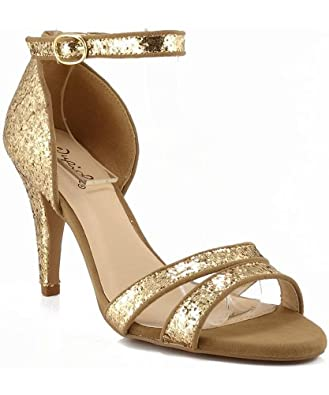 Champagne Colored Dress Shoes for Women