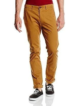 Springfield Pantalón Chino slim (Camel)
