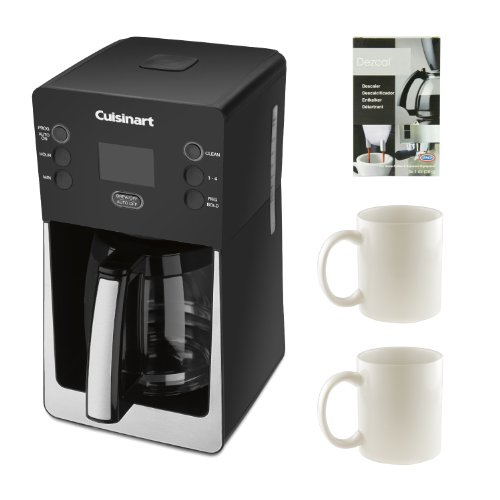 Cuisinart Coffee Maker Model Dcc 2800 : Cuisinart DCC-2800 Perfect Temp 14-Cup Programmable Coffeemaker w 2 Stoneware Coffee Mugs ...