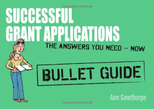 Successful Grant Applications (Bullet Guides)