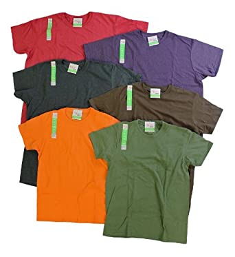 """Hanes Eco 3-pack """"Soft on you"""" shirts with a modern fit, assorted colors, XXL"""