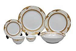 Lakline Porcelain Dinner set of 33 Pieces - HL80119