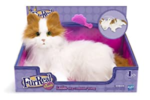 Hasbro  - 899871010 - Fur Real - Peluche Interactive - Moustache Mon Chat