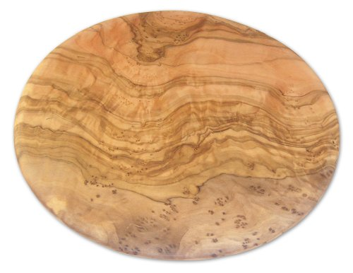 Berard 54177 French Olive-Wood Handcrafted Round Cutting Board