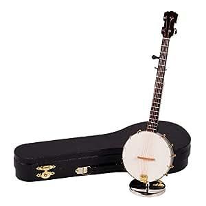 Amazon.com - Banjo Instrument Miniature Replica Music Box
