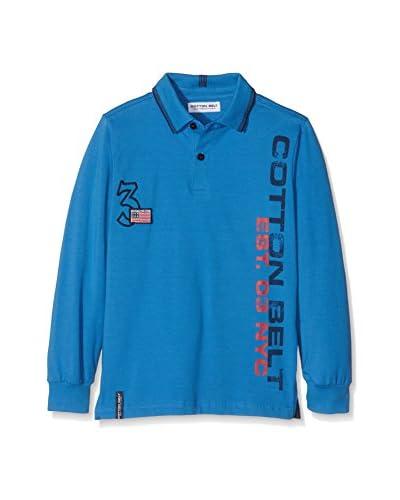 Cotton Belt Polo Azul