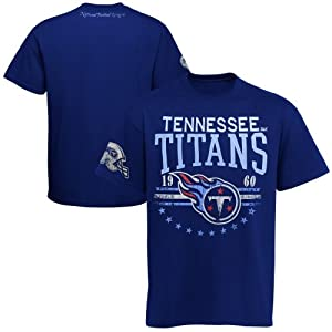 Tennessee Titans Big Time T-Shirt - Navy Blue by My Sports Shop
