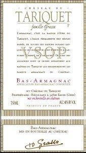 Chateau Du Tariquet Bas-armagnac Vsop 750ML