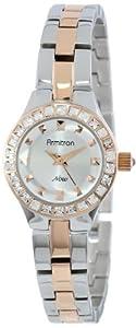 Armitron Women's 75/5148SVTR Swarovski Crystal Accented Two-Tone Bracelet Watch