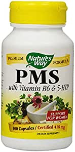 Nature's Way PMS Capsules, 100-Count