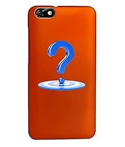 KolorEdge Back Cover For Huawei Honor 4X - Orange (1344-Ke15096Honor4XOrange3D)