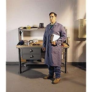Shop coat; size, large (44-46): Science Lab Coats And Jackets: Amazon