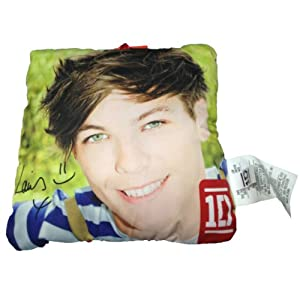 1d - One Direction - 10 Louis Photo Collectible Pillow from Commonwealth
