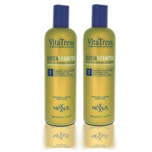 "Nexxus Vitatress Biotin Shampoo 10Oz ""Pack Of 2"""
