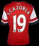 サンティ・カソルラ直筆サイン入りユニフォーム (2012/13 Arsenal: Home)