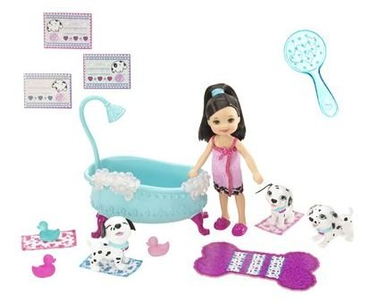 Barbie Kelly Luv Me 3 Kayla Doll & Pets Bath Time Playset - Buy Barbie Kelly Luv Me 3 Kayla Doll & Pets Bath Time Playset - Purchase Barbie Kelly Luv Me 3 Kayla Doll & Pets Bath Time Playset (Barbie, Toys & Games,Categories,Dolls,Playsets,Fashion Doll Playsets)