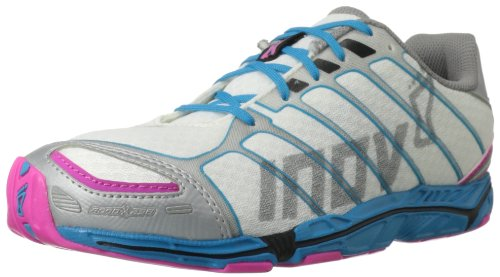 Inov-8 Women's Road-X 238 Running Shoe,White/Blue/Pink,8.5 D US