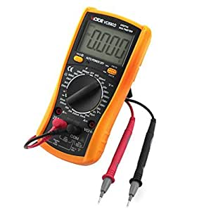VC890D Voltage Current Resistance Testing LCD Digit Multimeter w Leads