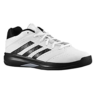 Adidas Isolation 2 Low Basketball Shoes - Core White/Black - Mens - 12