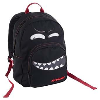 Amazon.com: Backpack INVICTA - OLLIE FACE II - black evil - Padded