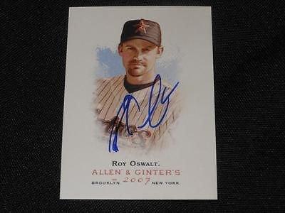 Roy Oswalt Autograph Houston Astros Roy Oswalt