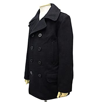 SCHOTT 782US WOOL 4PKT PEA COAT