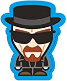 Official Breaking Bad Sticker - Heisenberg Caricature in Black Suit