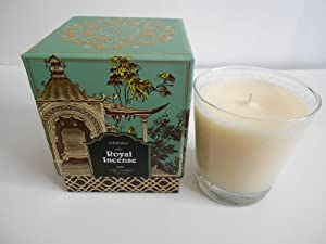 Jardin Red Amber Boxed Candle