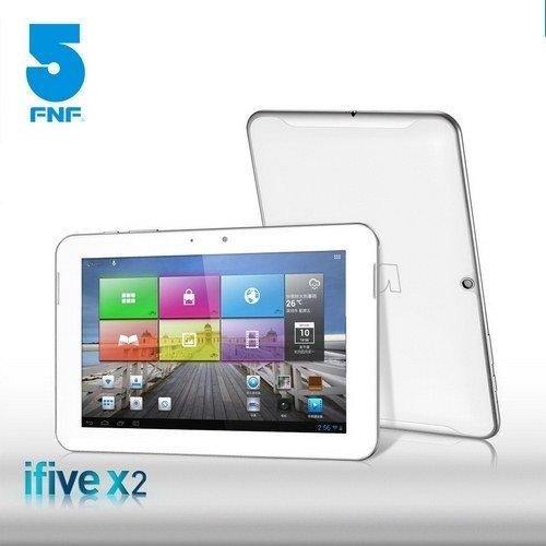 8.9-Inch FNF Ifive X2 16GB Tablet PC IPS Retina Screen 1920×1200 RK3188 Quadcore 1.8GHz 2GB RAM Android 4.1 MID with Bluetooth Dual Cameras and 7000mAh Battery