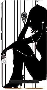 PrintVisa Music Girl Case Cover for Asus Zenfone 6