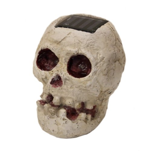Skullar - Solar Powered Outdoor Halloween Skull Fright Light