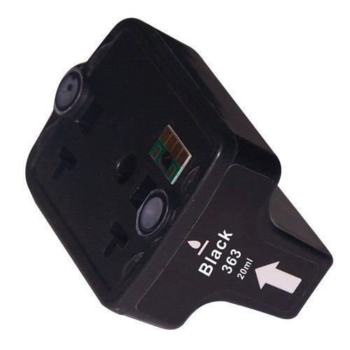 N.T.T.® - 1 x STÜCK BLACK / SCHWARZ kompatible XL Tintenpatrone für HP 363 Serie 363BK für HP Photosmart C5190 C5194 C5150 C5160 C5170 C5173 C5175 C5183 C5185 C5188 C5190 C5194 C6150 C6160 D6160 D7145 D7155 D7160 D7163 D7168 D7180 D7183 D7260 D7280 D7300 D7345 D7355 D7360 D7363 D7368 D7460 D7463 D7468 Photosmart 3100 3110 3200 3210 3310 C5180 C6160 C6180 C7180 8200 8238 8250 Druckerpatrone