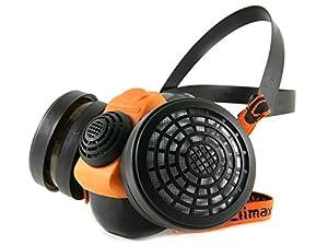 Profi Atemschutz Gasmaske Lackiermaske Atemschutzmaske Halbmaske mit 2 Filtern A1