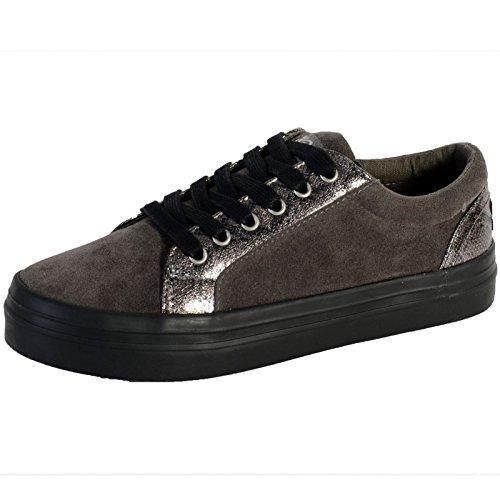 Kaporal  Flex,  Sneaker donna Grigio grigio 41
