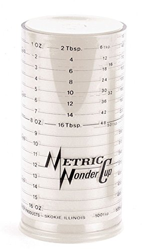 Wonder Cup Adjustable Measuring Cup (Two Cup Size) (1 2 Cup Measurer compare prices)