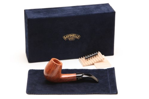 Savinelli Autograph 4 Smooth Tobacco Pipe