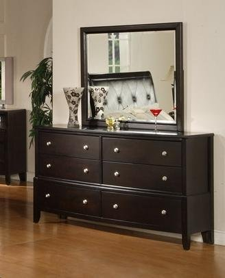 Espresso Finish Dresser back-697004