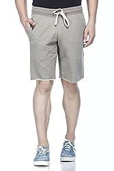 Tinted Men's Cotton Polyester Shorts TJ4201-OLIVE-L