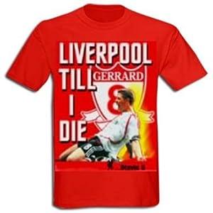 Steven Gerrard Liverpool T-shirt by Liverpool FC