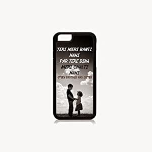 Krazycases Brother And Sister Back Shell Cover For Apple Iphone 6