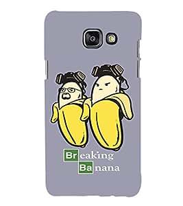 EPICCASE Breaking banana Mobile Back Case Cover For Samsung Galaxy A7 (Designer Case)