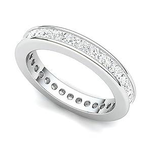 Channel Set Eternity Wedding Band 33 Popular Platinum Channel set Diamond