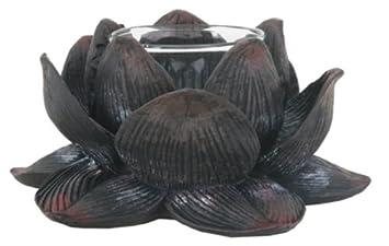 Lotus Votive / Candle Holder – Meditation Flower Candleholder Buddha