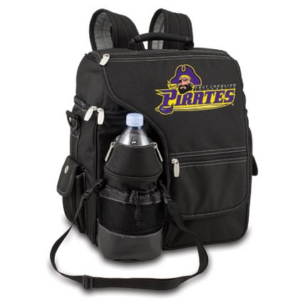 Ncaa East Carolina Pirates Turismo Insulated Backpack Cooler front-637109