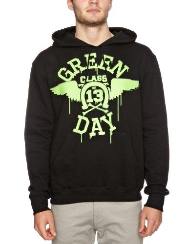 Bravado Green Day Neon Wings Men's Hoodie Black X-Large